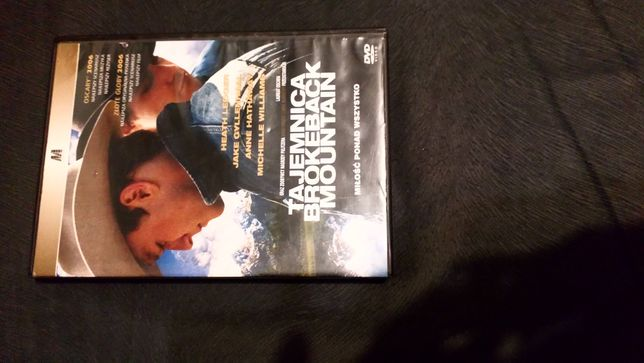 Film DVD - Tajemnica Brokeback Mountain - reż. Ang Lee, stan BDB