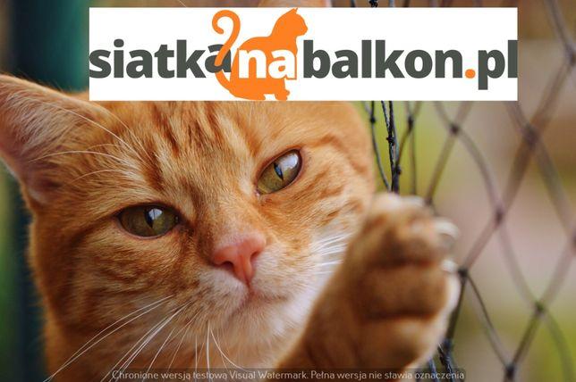 SIATKA DLA KOTA,na balkon/okno,PRZECIW PTAKOM,siatki zabezpieczające!!
