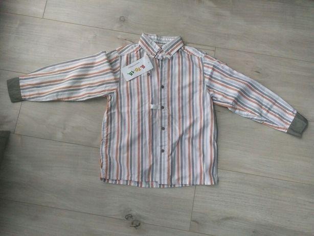 Koszula chłopięca 5 10 15 roz.128