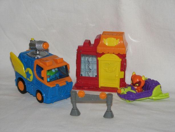Bakery Mission Blast Super Zings - 2 figurki - dwa pojazdy