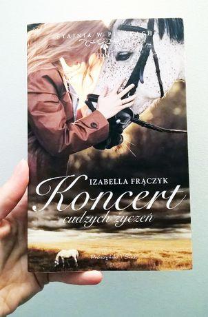 nowa książka z podpisem Koncert cudzych życzeń - Izabella Frączyk
