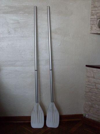 Pagaje aluminiowe - wiosła 124 cm.