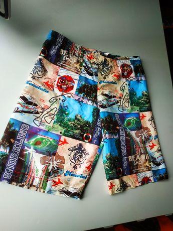 Стильные шорты на мальчика 8-10 лет