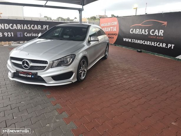 Mercedes-Benz CLA 180 D AMG Shooting Break