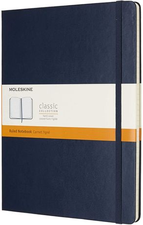 Classic Hard by Moleskine XLarge (19/25) Blue