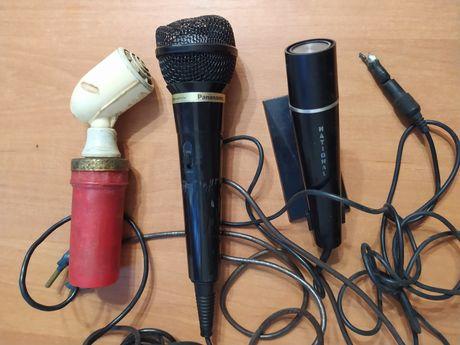 Микрофон 3шт.на запчасти.