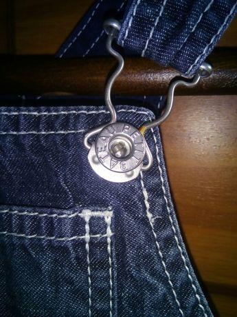 джинсовый комбинезон для мальчика
