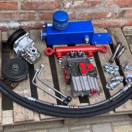 Комплект гидравлики на мини-трактор мото-блок (задняя навеска ЦС40)