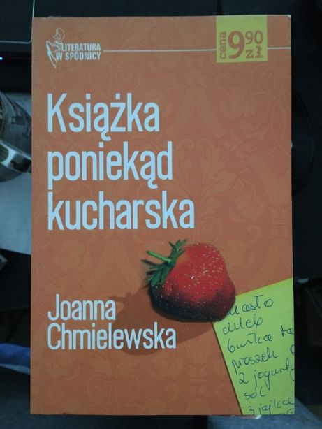 Książka poniekąd kucharska - Joanna Chmielewska