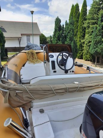 Rib, hypalon, łódź motorowa, motorówka, ponton
