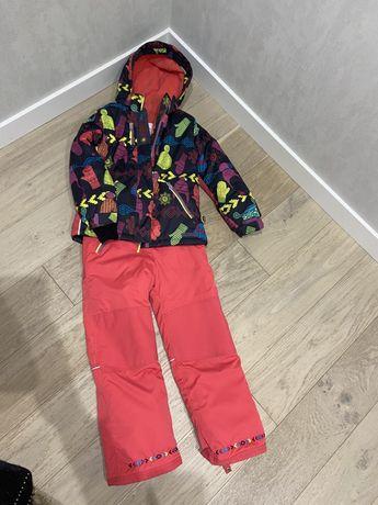 Продам канадский лыжный зимний комплект на девочку 8-10 лет