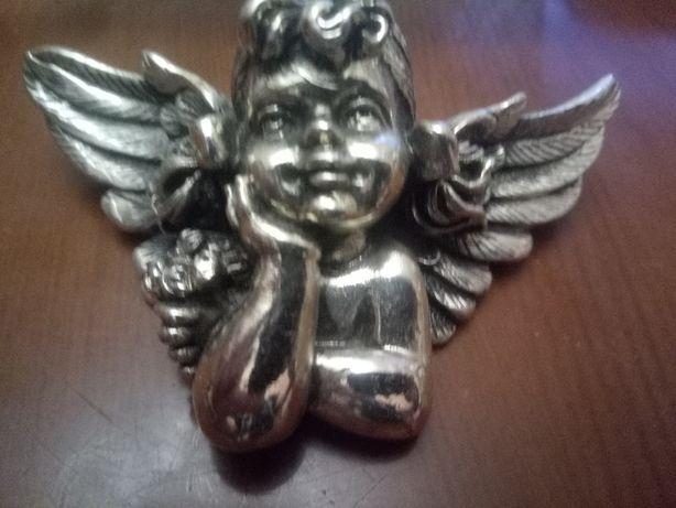 фигурка Ангел серебро 925 пр silver plated лучший новогодний подарок