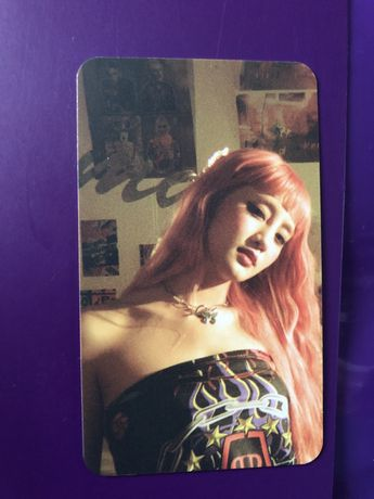 minnie kpop gidle soojin photocard