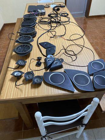 Sistema de som bang&olufsen para audi a5
