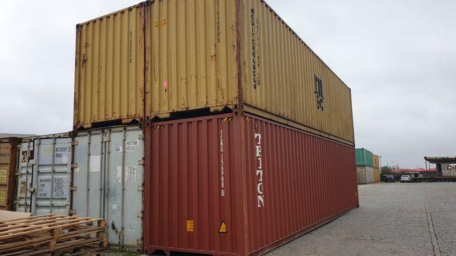 Contentor Marítimo 40 Pés HC /Leixões