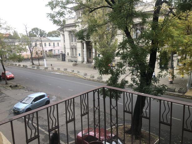 Квартира на Пастера, напротив театра с балконом.