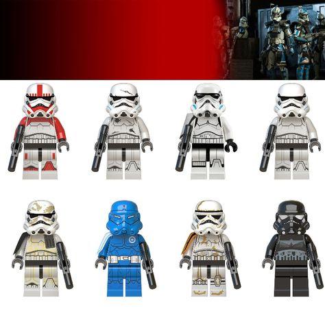 Bonecos minifiguras Star Wars nº54 (compativel com lego)