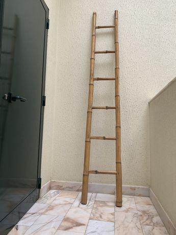 escadote de bambu 217 cm
