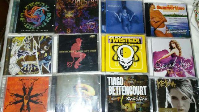 C d. música originais vários novos