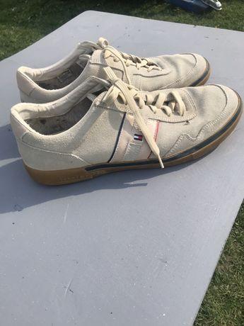 Кросівки  TOMMY HILFIGER 44 розмір з натуральної замші, Кроссовки