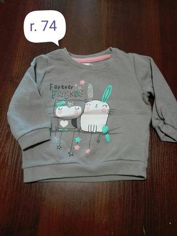 Bluza dla dziewczynki r. 74