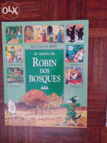 A Lenda de Robin dos Bosques, história ilustrada