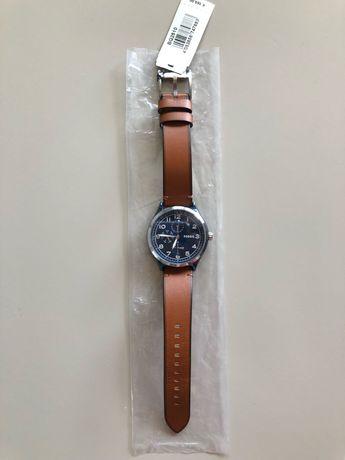 Nowy oryginalny zegarek męski FOSSIL BQ2510 brązowo-niebieski FOLIA