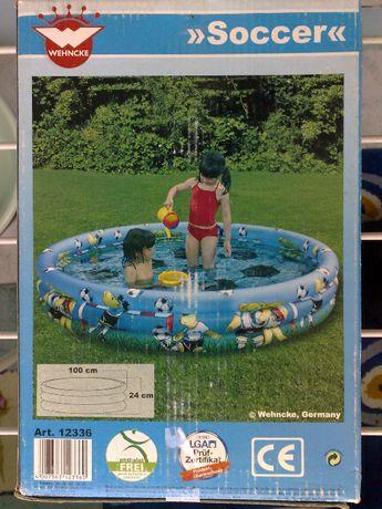 """Продам немецкий надувной бассейн для малышей фирмы """" Wehnke """" ."""