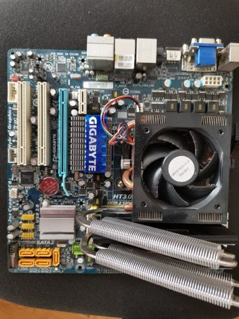 Atlon x4 850 + 4x2 DDR 2 + gigabyte GA-MA785GM-US2H