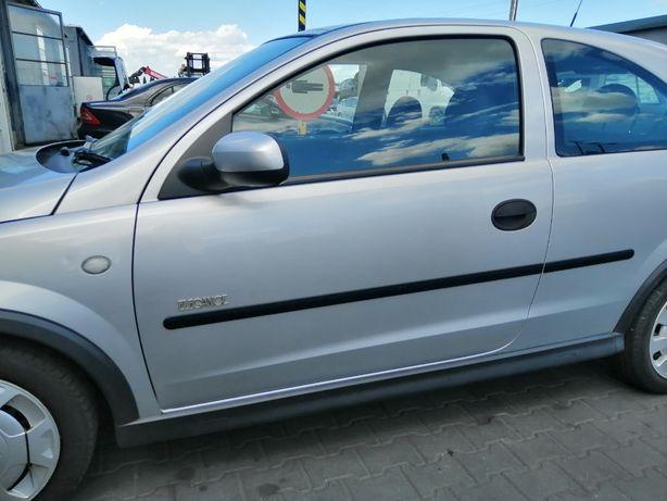 Drzwi Lewe Opel Corsa C 3D Z157