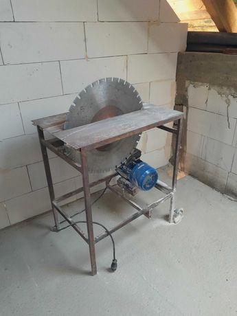 Piła stołowa 230V + widiowa tarcza do betonu fi 650