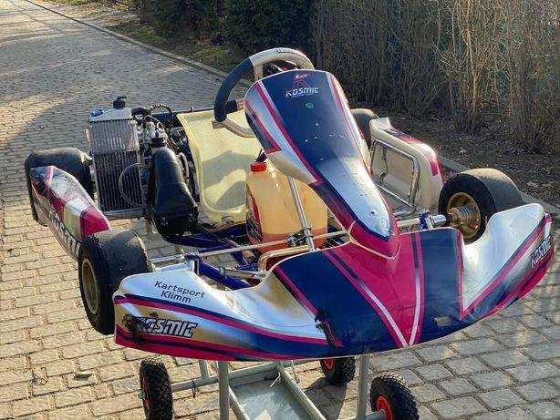 GoKart KOSMIC 125cm ROTAX Junior karting +16 spalinowy IDEAŁ ŁADNY