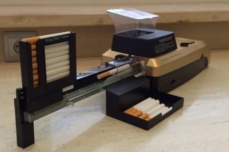 Машинка Golden Rainbow для набивки 10 сигарет,самокруток,гильз,табака.