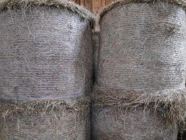 Siano z łąk polnych w belach