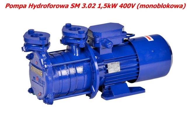 Pompa hydroforowa samozasysająca SM 3.02 1,5kW 400V (monoblokowa)