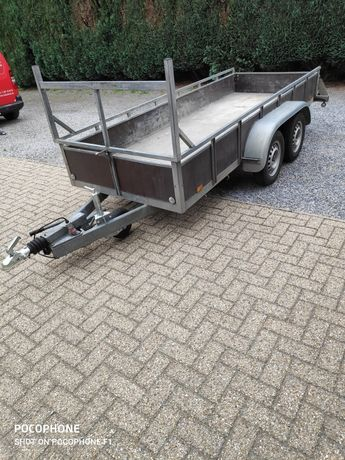 Przyczepka samochodowa  dwuosiowa 1400 kg
