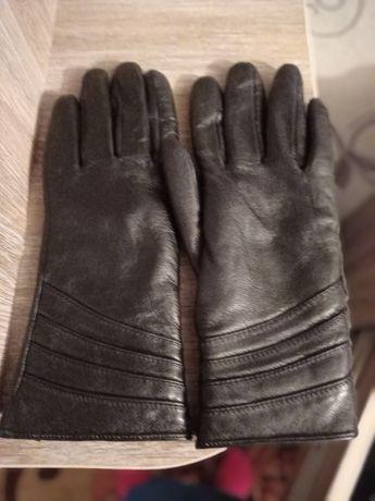 Шкіряні жіночі рукавички