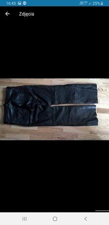 Skórzane spodnie motocyklowe OUTLAST rozm. M