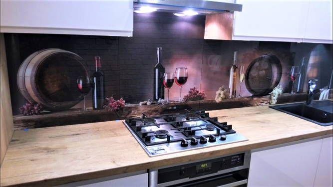Panel szklany do kuchni Szkło Hartowane Lacobel lakobel Będzin - image 1