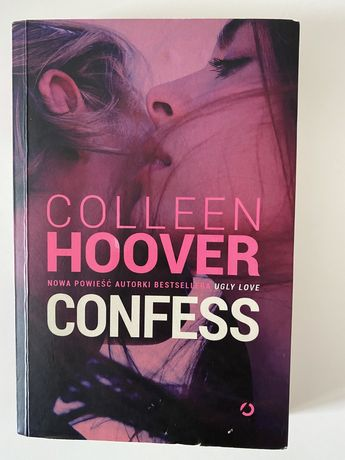 """""""Confess"""" Colleen Hoover"""