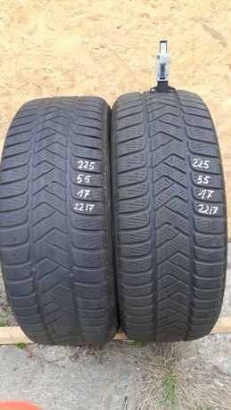 225/55 r17 Pirelli Sottozero 3.  2217