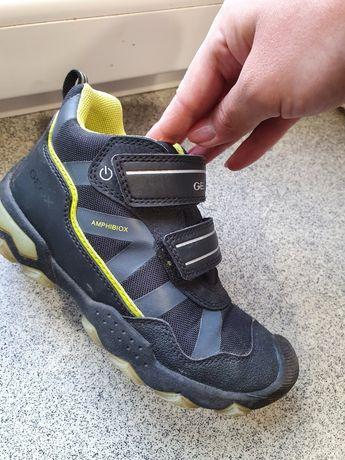Geox Amphibiox ботинки с мигалками р.32