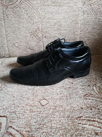 Buty eleganckie skórzane