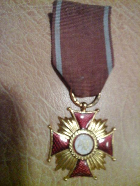 Krzyż Zasługi - PRL - złoty