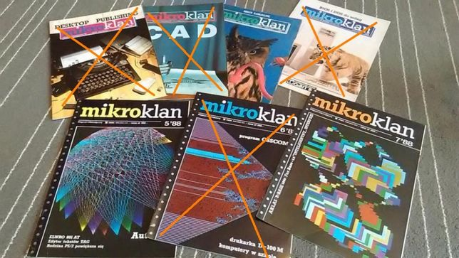 Mikroklan '88 3 egzemplarze