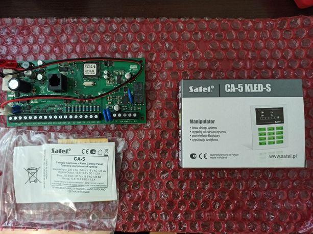 Zestaw alarmowy CA5 z klawiaturą LED
