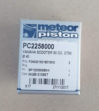 Piston Yamaha DT50LC D40 Meteor