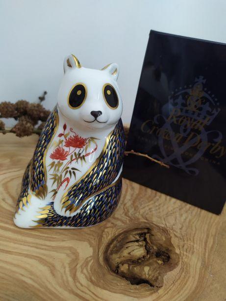 Przycisk do papieru Royal Crown Derby - Panda