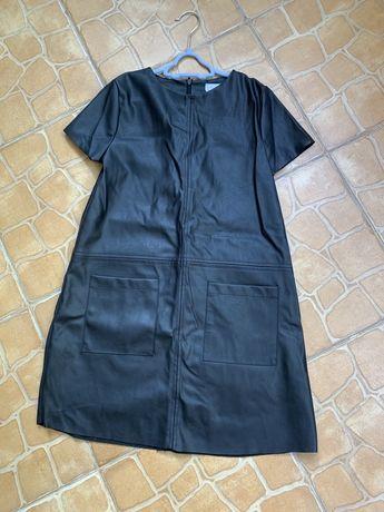 Кожанное платье Zara p140