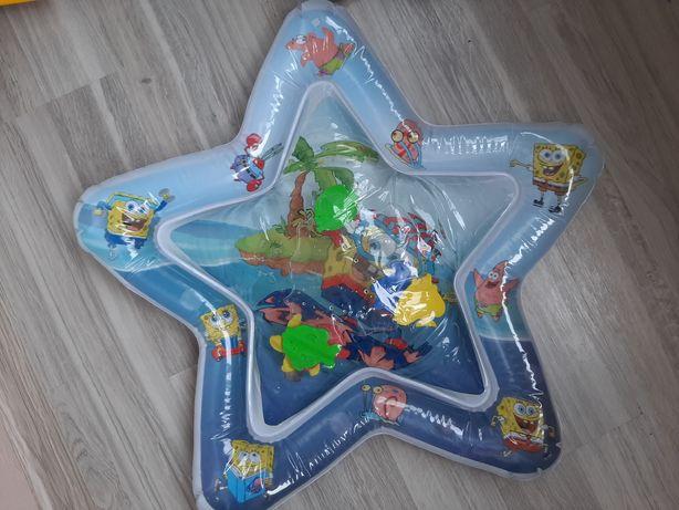 Водный коврик для малышей,с рыбками
